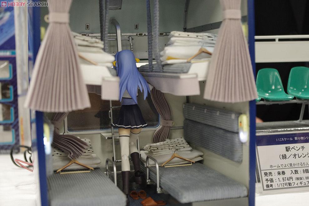1/12スケール 内装模型 24系25形寝台客車