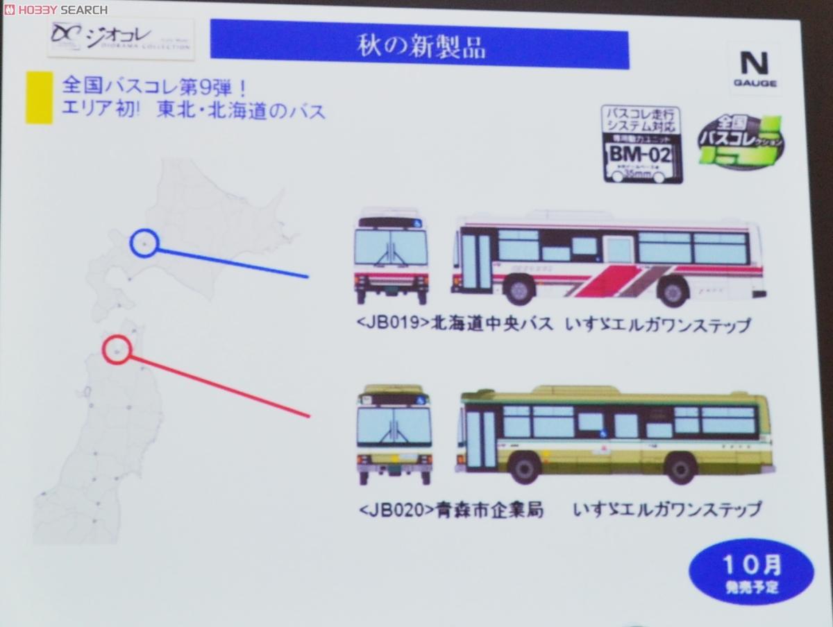 全国バスコレ第9弾 エリア初! 東北・北海道のバス