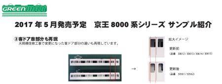 京王8000系シリーズサンプル紹介