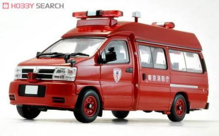 TLV-N43-03a 日産エルグランド 消防指揮車 (東京消防庁)