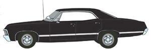 Supernatural (TV Series 2005-)1967 Chevrolet Impala Sport Sedan