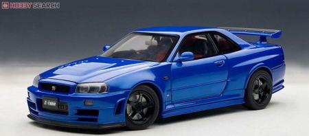 ニスモ R34 GTR Ztuneベイサイドブルー