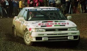 スバル レガシー RS 1990年ニュージーランドラリー