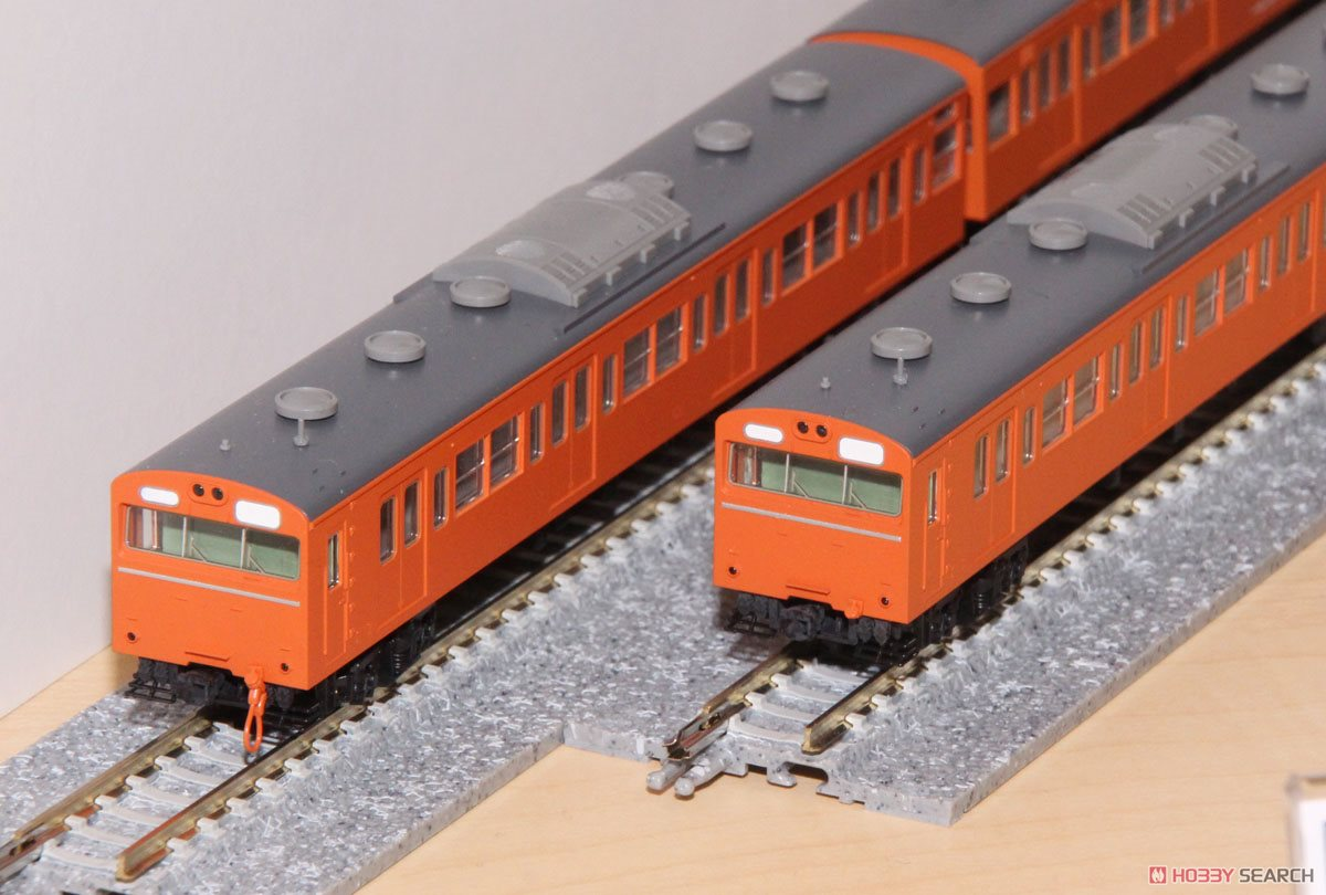 98237 国鉄 103系 通勤電車 (高運転台ATC車・オレンジ) 基本セット (基本・4両セット)