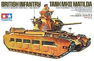 イギリス歩兵戦車 Mk.II マチルダ (プラモデル)