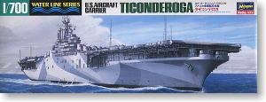 アメリカ海軍航空母艦 タイコンデロガ (CV-14) (プラモデル)
