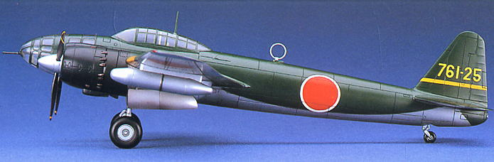 Kugisho P1Y1 Ginga (Frances) Type11 (Plastic model) Images List