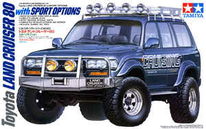Toyota Land Cruiser 80 Sports Option (Model Car)