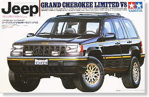 Jeep Grand Cherokee Limited V8 Model Car