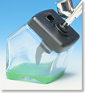 Hobby Mr Cleaning Bottle AIRBRUSH CLEANING STATION POT PS-257 by GSI Creos Mr