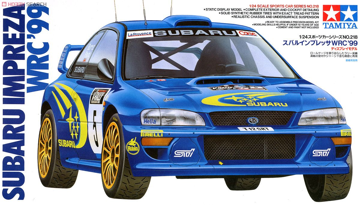Subaru Impreza WRC `99 (Model Car) Package1