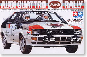 audi quattro rally model car hobbysearch model car kit. Black Bedroom Furniture Sets. Home Design Ideas