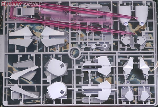 MSZ-010 ZZ Gundam (MG) (Gundam Model Kits) Contents2