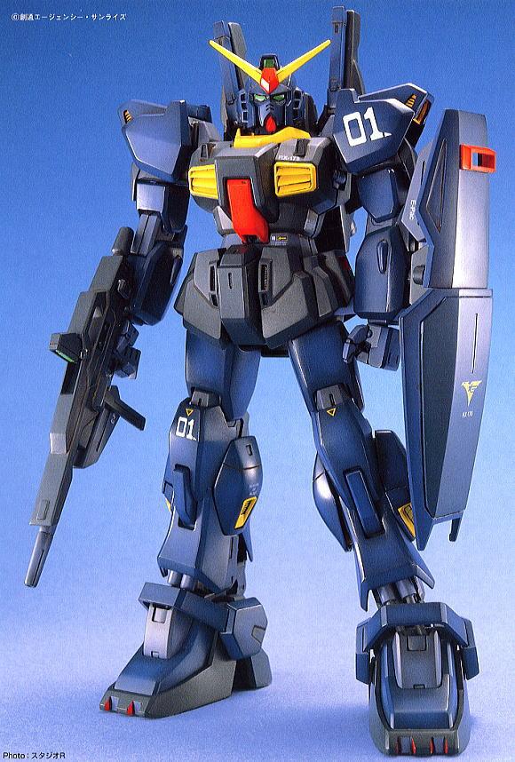 RX-178 ガンダムMk-II (ティターンズ仕様) (MG) (ガンプラ)