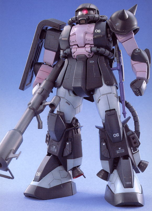 MS-06R-1A ザクII 黒い三連星専用機 (MG) (ガンプラ)