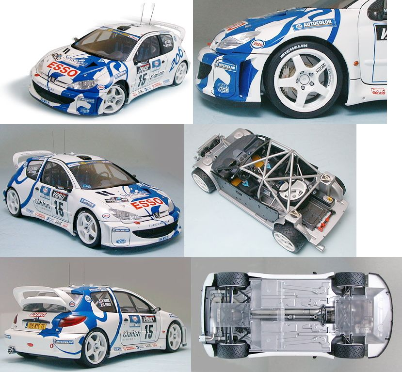 Peugeot 206 WRC (Model Car) Item picture1
