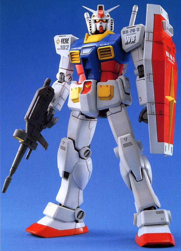 Master Grade Gundam Model Kits