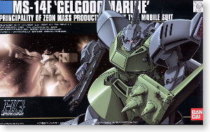 MS-14F Gelgoog Marine (HGUC) (Gundam Model Kits)