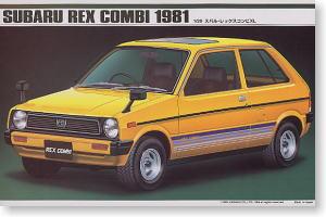 Subaru Rex Combi 1981 Model Car Hobbysearch Model Car Kit Store