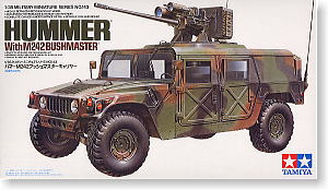 Hummer with M242 Bushmaster (Plastic model)
