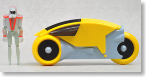 TRON SERIES C Soldier Light Cycle (Yellow)(完成品)