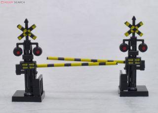 Railway Crossing Signals & Gates (2 Pieces Set) (Model Train