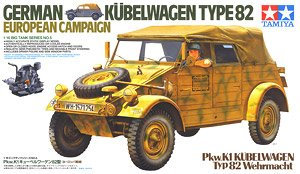 German Kubelwagen Type 82 (European Campaign) (Plastic model)