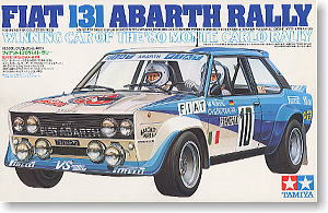 Fiat 131 Abarth Rally Winning Car Of The 1980 Monte Carlo
