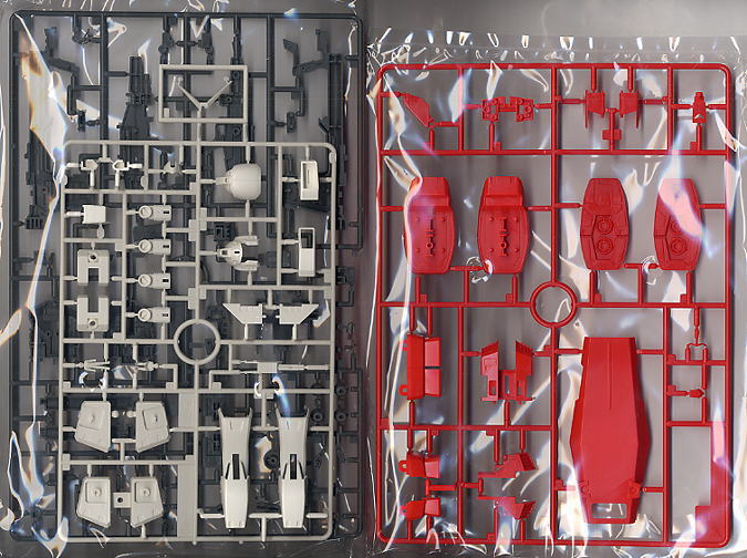 RX-78-2 Gundam Ver.Ka (MG) (Gundam Model Kits) Contents2