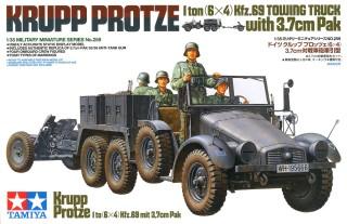 First To Fight NEU, 1//72 Plastik Krupp Protze Kfz.69
