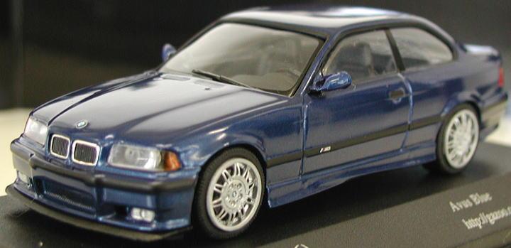 BMW M3 (E36/アブスブルー) (ミニカー) 商品画像2