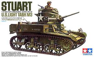 アメリカ軽戦車 M3 スチュアート (プラモデル)
