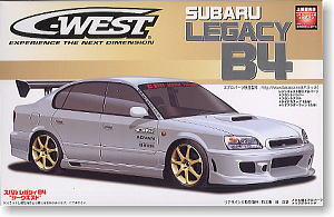 Subaru Legacy B4 C West Model Car Hobbysearch Model Car Kit Store