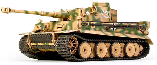 ドイツ重戦車 タイガーI 初期生産型 (プラモデル)