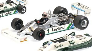 WILLIAMS FORD FW07C A・JONES 1981 エンジン付 (ミニカー)