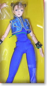 Chunli (Street fighter Zero) (Blue)(Fashion Doll)