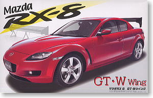 Mazda Rx 8 Gt W Wing Model Car