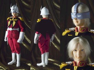 Figure Box Char Aznable Zeon Uniform Ver  (Fashion Doll