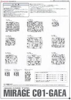 1//72 scale Plastic model Kotobukiya Armored Core JAPAN Mirage C01-GAEA