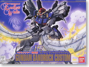XXXG-01SR2 Gundam Sandrock Custom Metal Clear Version (HG) (Gundam Model Kits)