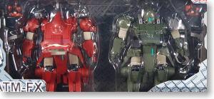 カラミティドッグ レッドバージョン×グリーンバージョン 2体セット (完成品)