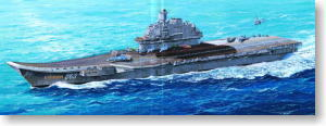 Russian Aircraft Carrier Admiral Kuznetsov (Plastic model)
