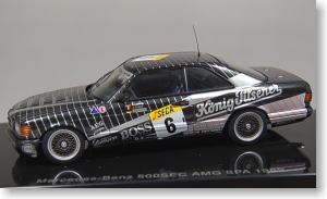 MERCEDES 500 SEC AMG SPA 1989 AUTOART 1:43