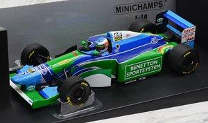 ベネトン フォード B194 M.シューマッハ ワールドチャンピオン 1994 (ドライバーなし) (ミニカー)