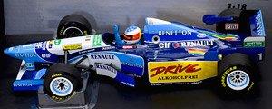 ベネトン ルノー B195 M.シューマッハ (ドライバーなし) ワールドチャンピオン 1995 (ミニカー)