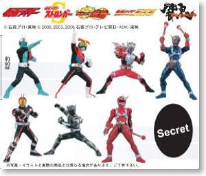 仮面ライダーシリーズ モーションフィギュア 12個セット(完成品)