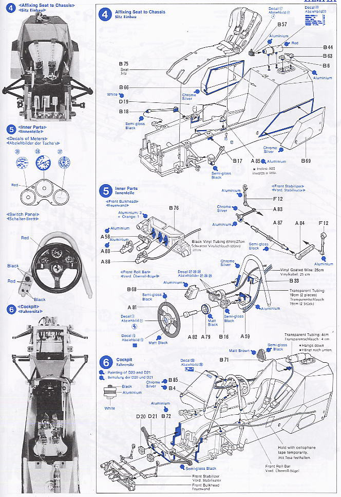 Car Parts List >> Ferrari 312T4 with Etching Parts (Model Car) Assembly guide(Eng)2