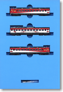 Series 455 `Akabe` Color (2006) (3-Car Set) (Model Train)