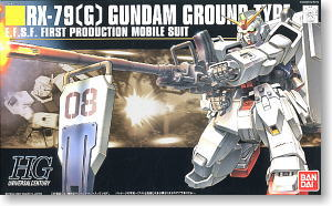 RX-79(G) Gundam Ground Type (HGUC) (Gundam Model Kits)