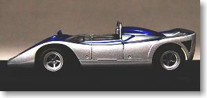 ニッサン R383 1970 (シルバー/ブルー) (ミニカー)